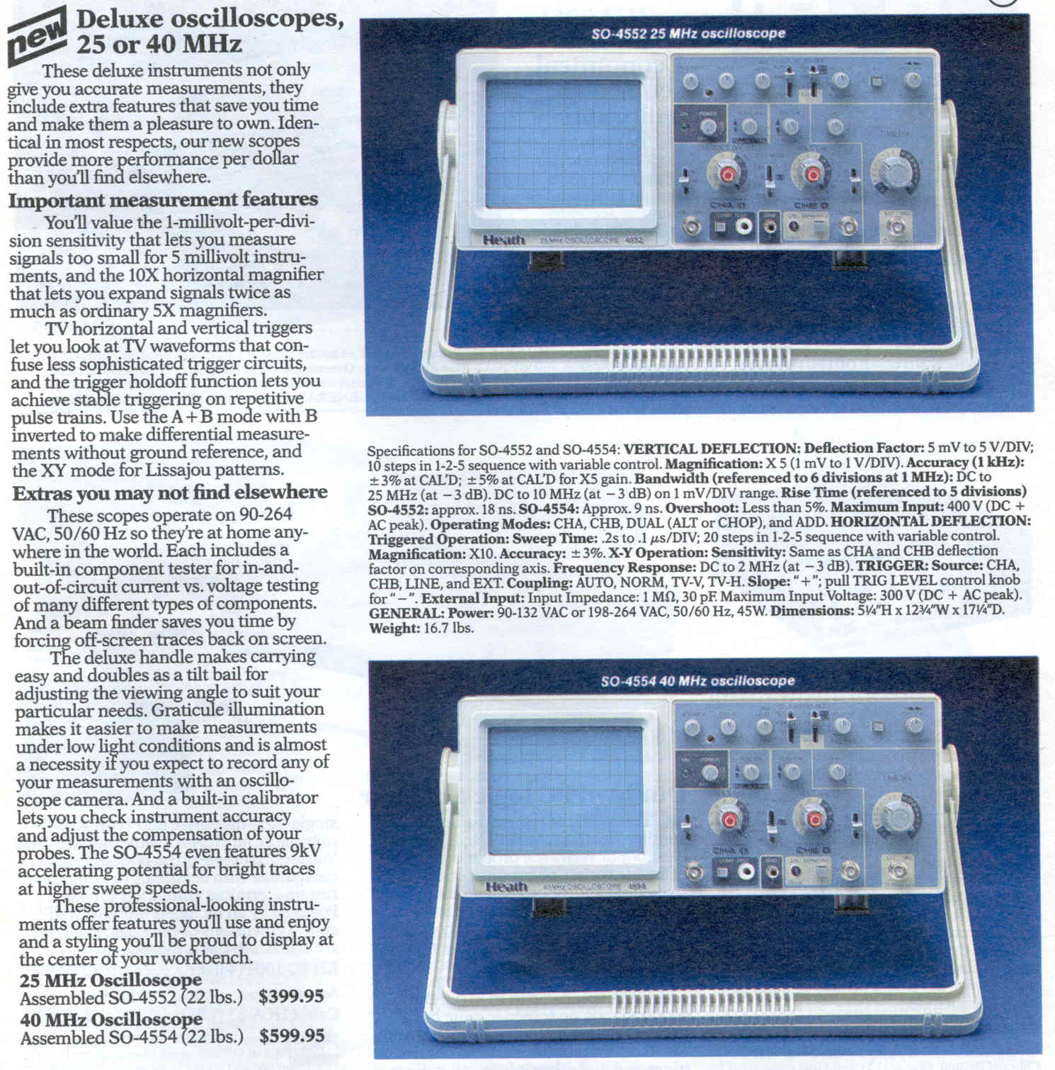 Lazure My Equipment 1hz Up To 22mhz Generator By Max038 Oscilloscope First And Favorite Was A
